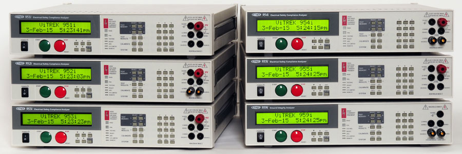 95X Series Hipot Tester Slider